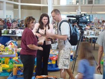Thanks to Tealy Devereaux with Fox 13 who did a great report on KidsTown!